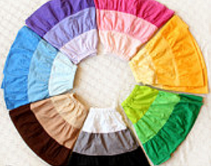 RainbowCircleSkirt
