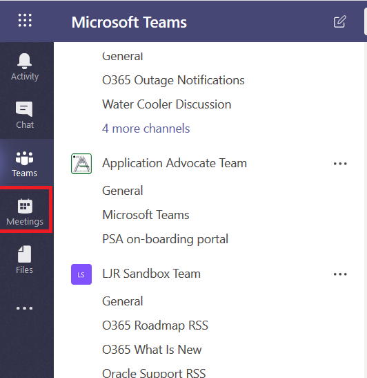 Did you know … you can schedule meetings through Microsoft