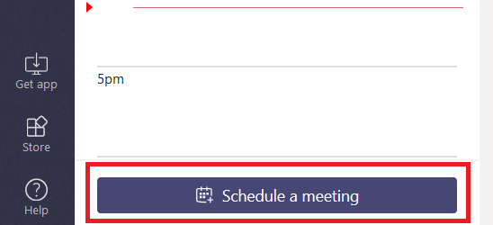 Did you know … you can schedule meetings through Microsoft Teams