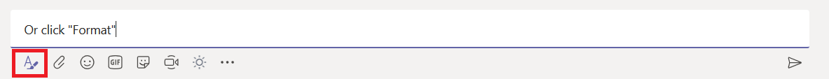Did you know … Microsoft Teams has a GUI text editor
